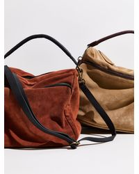 Free People We The Free Harris Suede Hobo - Multicolour
