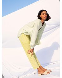 Free People Catching Feels Sweatpants - Yellow