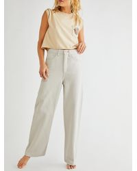 Free People Levi's High Loose Jeans - Grey