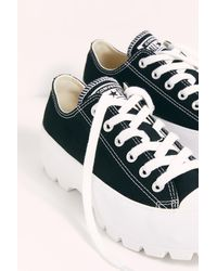 Free People Chuck Taylor All Star Lugged Ox Sneakers By Converse - White