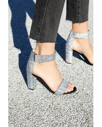 Free People Sparkle And Shine Heels By Jeffrey Campbell - Black