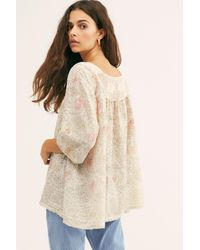 Free People Golden Poppy Eula Top By Magnolia Pearl - Multicolor