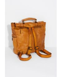Free People - San Vito Distressed Backpack By Civico - Lyst