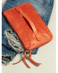 Free People - Distressed Travel Wallet - Lyst