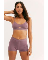 Free People Femme Boxer By Richer-poorer - Purple