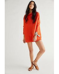 Free People - Ottoman Slouchy Tunic Jumper - Lyst