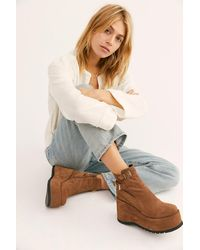 Free People Sabrina Platforms By Fp Collection - Multicolour