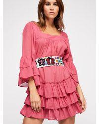 Free People - Gretta Mini Dress - Lyst