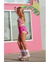 Fp Movement Featherweight Layering Shorts - Pink