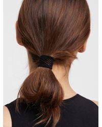 Free People - Fishnet Hair Ties 3pk - Lyst