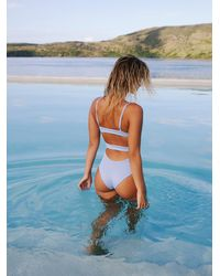 Free People Adrian One-piece Swimsuit By Tavik - Blue
