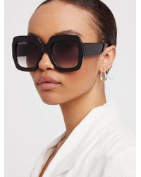 Free People | Real Deal Oversized Sunnies | Lyst