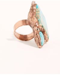 Free People Santa Fe Stone Ring By Ayana Designs - Multicolour