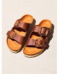 Free People Arizona Big Buckle Birkenstock Sandals - Multicolour