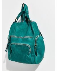 Free People Bolsa Nova Mia Backpack - Green