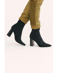 Free People - Siren Cove Heel Boot By Jeffrey Campbell - Lyst