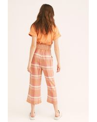 Free People It's Necessary Pant By Endless Summer - Orange