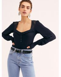 Free People - Kissin' Kate Solid Top - Lyst