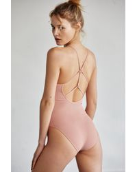 Free People Dance All Day Bodysuit - Multicolour
