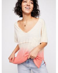 Free People - We The Free Sun Dial Tee - Lyst