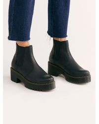 Free People - Dr. Martens Rometty Chelsea Boot - Lyst