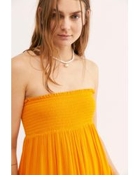 Free People Convertible Skirt By Endless Summer - Orange