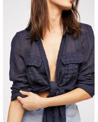 Free People - Fp One Lana Knot Top - Lyst