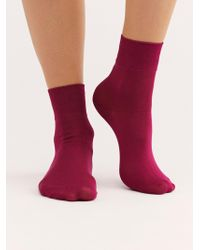 Free People - Trouser Crew Sock - Lyst