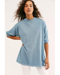 Free People We The Free Be Free Tunic - Blue