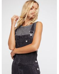 Free People - The Boyfriend Overall - Lyst