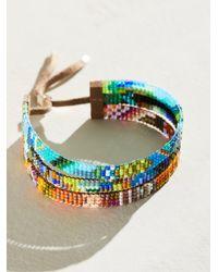 Free People Julie Rofman Triple Stack Bracelet - Multicolour