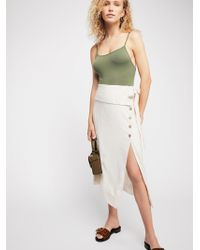 Free People - Now That I Have You Skirt - Lyst