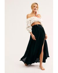 Free People - Coast To Coast Wrap Skirt By Endless Summer - Lyst