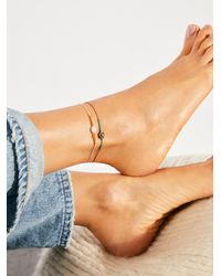Free People Summer Anklet - Multicolour
