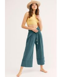 Free People Shore Thing Pants By Endless Summer - Blue