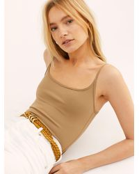 Free People Basique Bodysuit By Intimately - Multicolour