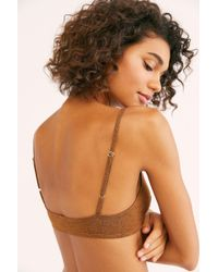 1d602253c4 Free People Seeing Stars Tie Front Bralette By Only Hearts in Black ...