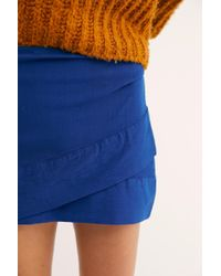 Free People - That's A Wrap Mini Skirt - Lyst