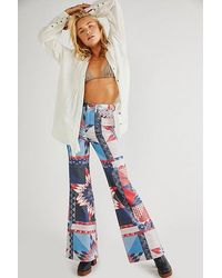 Wrangler Wanderer High Rise Flare Jeans - Multicolour