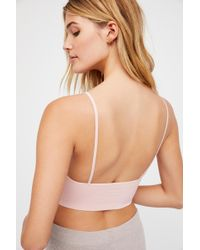 Free People Ali Low-back Seamless Bra By Intimately - Multicolor