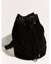 Free People Melo Leather Sling - Black