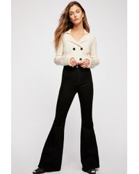Free People Brooke Flare Jeans By We The Free - Black