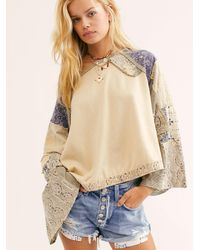 Free People In Pieces Top - Natural