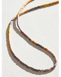 Free People Julie Rofman Wrap Necklace - Multicolour