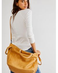 Free People Leslie Leather Satchel By Fp Collection - Multicolour