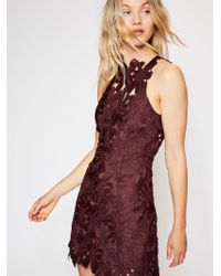 Free People - Jessa Lace Dress - Lyst