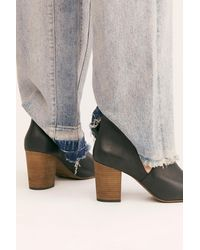Free People Seeing Stars Heel Boots By Fp Collection - Black