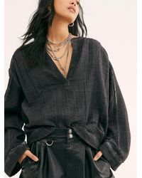 Free People We The Free Anguilla Washed Pullover - Multicolour