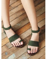 Free People | Torrence Flat Sandal | Lyst