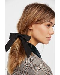 Free People - Bow Scrunchie - Lyst